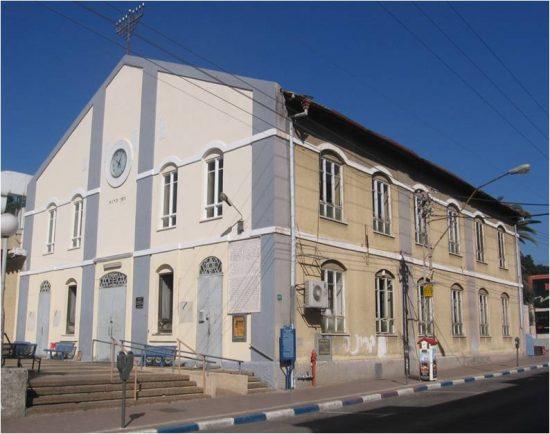 בית הכנסת הגדול בפתח תקוה, שנת 2017. צילום: טל בן נון גלז