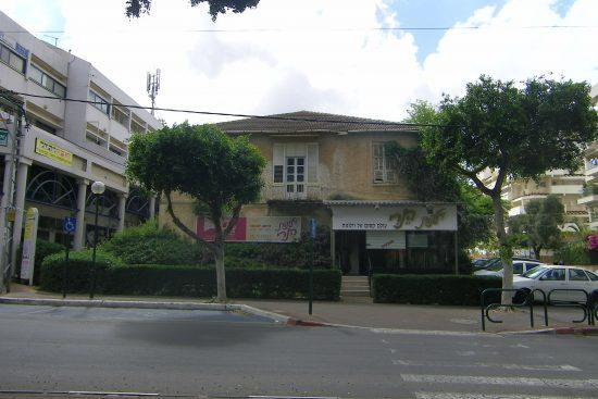 המבנה בשנת 2011, לפני עבודות השימור