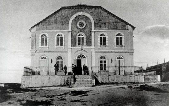 בית הכנסת אהל שרה ברחובות – ראשית שנות ה-20. הארכיון לתולדות רחובות